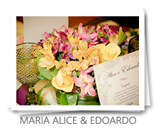 mesa&afins - Casamento: Maria Alice & Edoardo