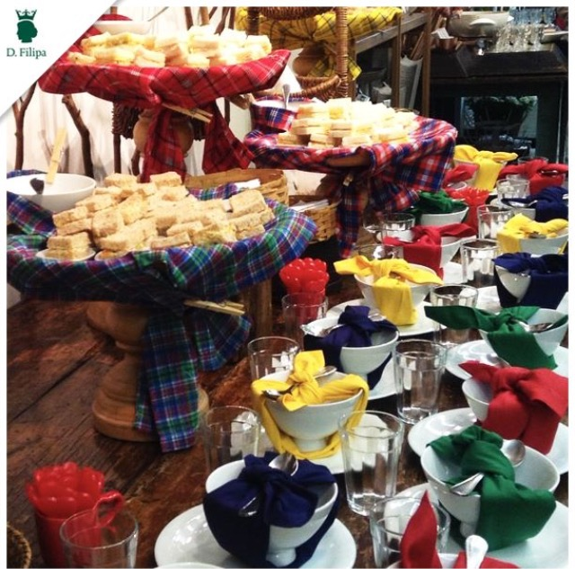 mesa&afins - Decoração de Festa Junina