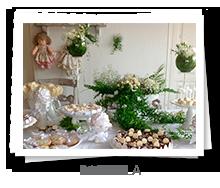 mesa&afins - Batizado: Rafaella
